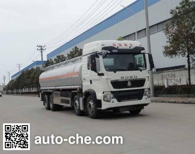 Sinotruk Huawin aluminium oil tank truck SGZ5311GYYZZ5T5