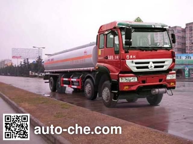 Sinotruk Huawin flammable liquid tank truck SGZ5314GRYZZ3