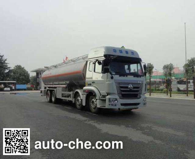 Sinotruk Huawin aluminium oil tank truck SGZ5321GYYZZ5J5