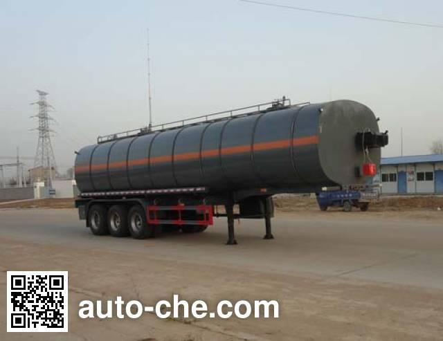 sinotruk huawin liquid asphalt transport tank trailer sgz9400gly