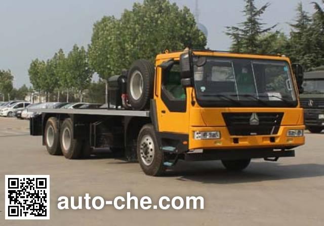 Wuyue truck crane chassis TAZ5204JQZ