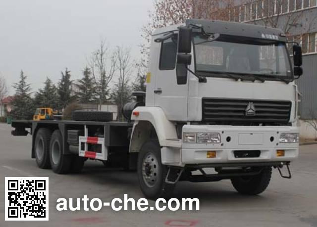 Wuyue truck crane chassis TAZ5204JQZA