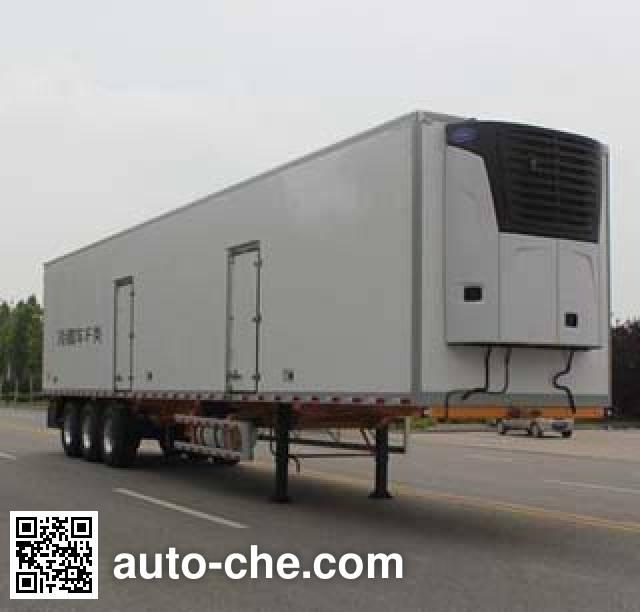 Wuyue refrigerated trailer TAZ9404XLCA