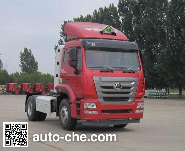 Sinotruk Hohan dangerous goods transport tractor unit ZZ4185V4216E1CW