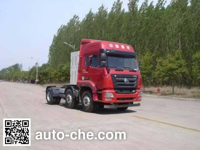 Sinotruk Hohan tractor unit ZZ4255N27C6E1L