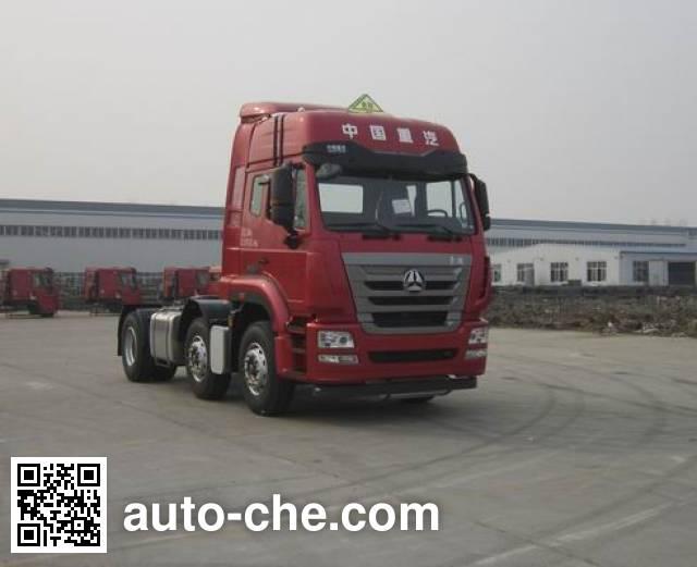 Sinotruk Hohan dangerous goods transport tractor unit ZZ4255N27C6E1W