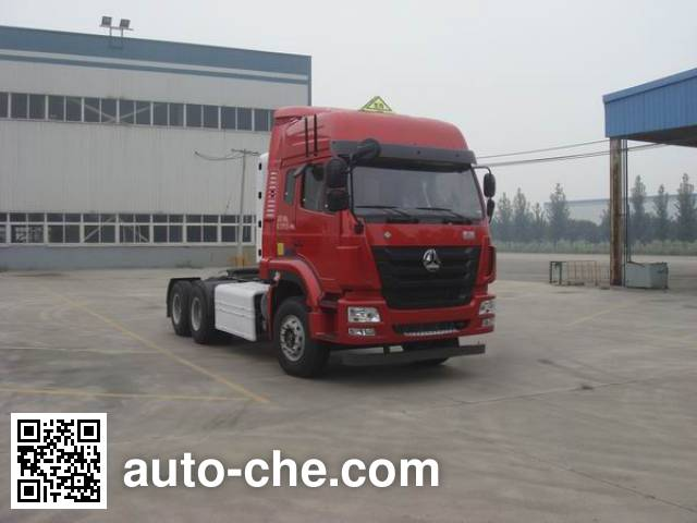 Sinotruk Hohan tractor unit ZZ4255N3847E1CW