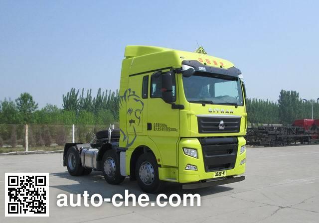 Sinotruk Sitrak dangerous goods transport tractor unit ZZ4256V25CHE1W