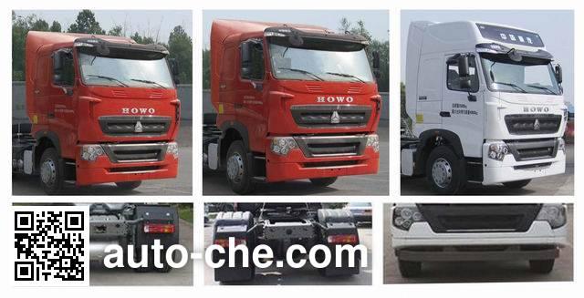 Sinotruk Howo tractor unit ZZ4257N27CWE1