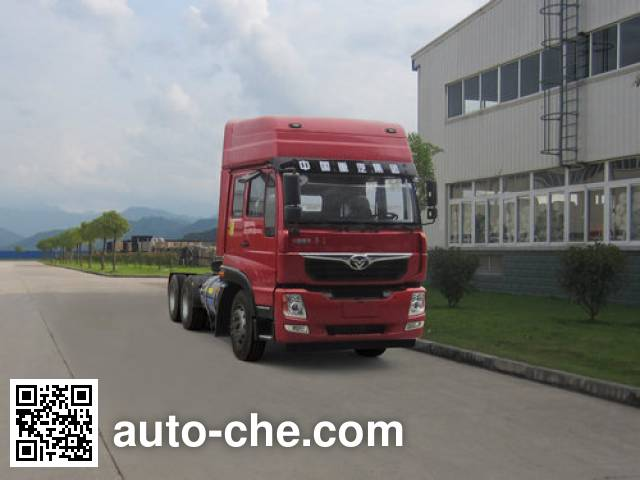 Homan natural gas tractor unit ZZ4258M40EL0