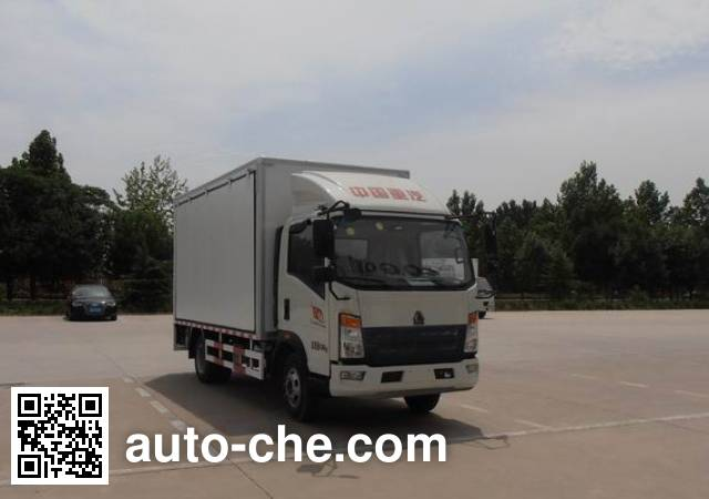 Sinotruk Howo mobile shop ZZ5047XSHF341BD143