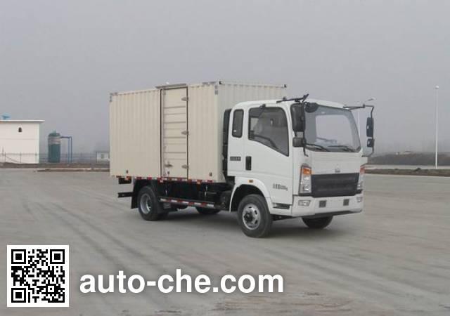 Sinotruk Howo box van truck ZZ5047XXYF331BE145