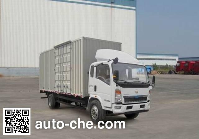 Sinotruk Howo box van truck ZZ5107XXYD3415D1