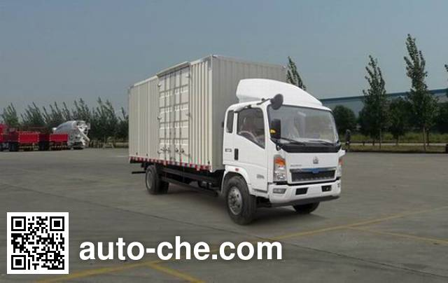 Sinotruk Howo box van truck ZZ5107XXYD3815D1