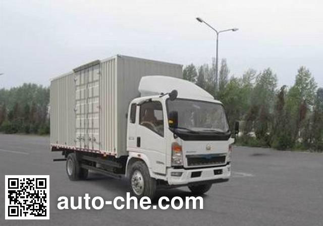 Sinotruk Howo box van truck ZZ5107XXYG3415D1