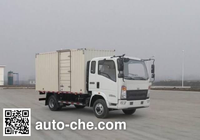 Sinotruk Howo box van truck ZZ5107XXYG421CE1