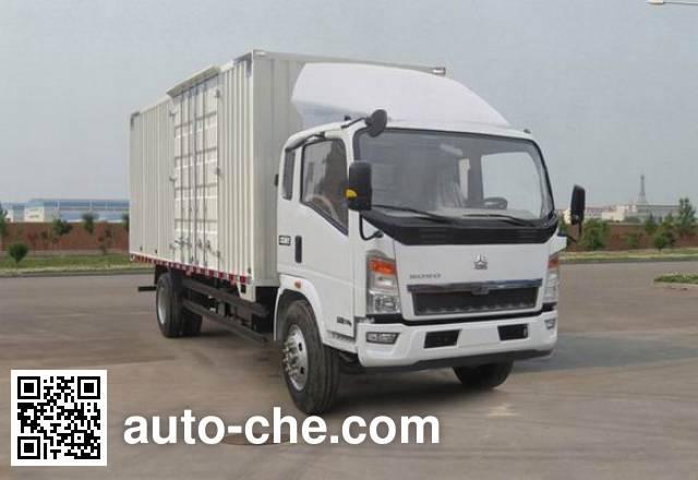 Sinotruk Howo box van truck ZZ5107XXYG4515D1
