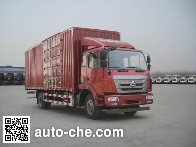 Sinotruk Hohan box van truck ZZ5125XXYG5113E1