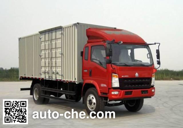 Sinotruk Howo box van truck ZZ5127XXYG451CD1