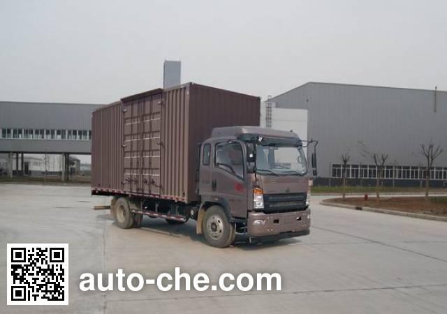 Sinotruk Howo box van truck ZZ5147XXYG421CE1