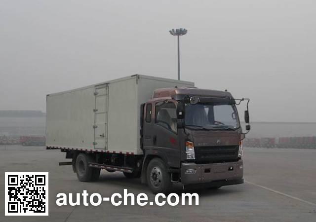 Sinotruk Howo box van truck ZZ5147XXYH451CE1