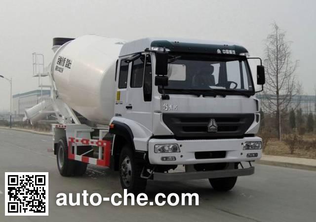 Huanghe concrete mixer truck ZZ5164GJBK3816D1