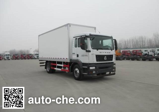 Sinotruk Sitrak box van truck ZZ5166XXYM561GE1