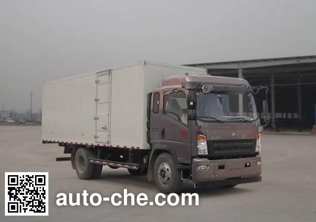 Sinotruk Howo box van truck ZZ5167XXYG451CE1