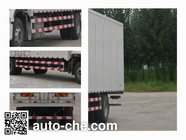Sinotruk Hohan box van truck ZZ5185XXYH7113E1