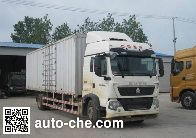 Sinotruk Howo box van truck ZZ5187XXYN711GE1