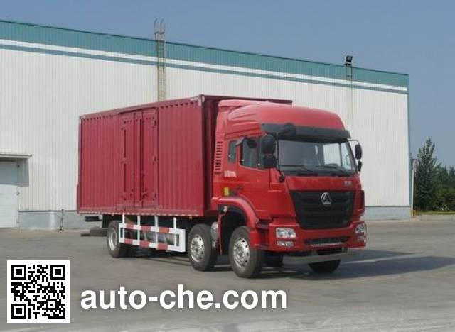 Sinotruk Hohan box van truck ZZ5205XXYM56C3E1L