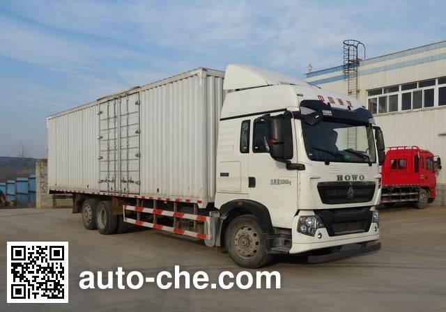 Sinotruk Howo box van truck ZZ5207XXYN60HGE1