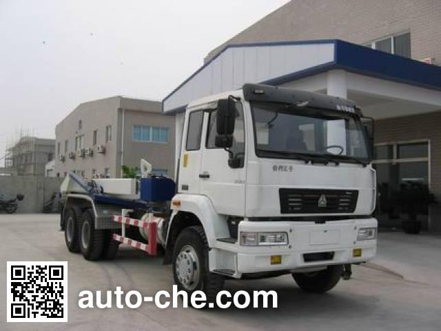 Sida Steyr dry mortar transport truck ZZ5251GHSM4641W