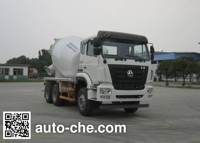 Sinotruk Hohan concrete mixer truck ZZ5255GJBK3243E1