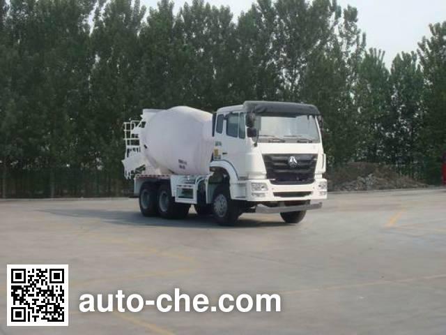 Sinotruk Hohan concrete mixer truck ZZ5255GJBN3243D1