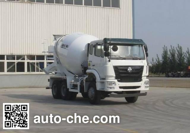 Sinotruk Hohan concrete mixer truck ZZ5255GJBN3646D1