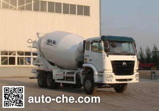 Sinotruk Hohan concrete mixer truck ZZ5255GJBN4146C1