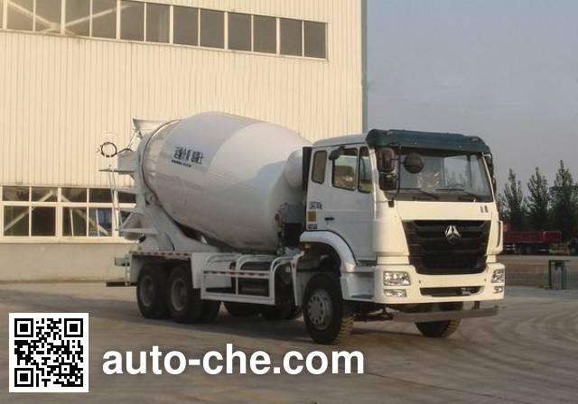 Sinotruk Hohan concrete mixer truck ZZ5255GJBN4346D1