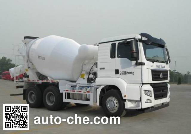 Sinotruk Sitrak concrete mixer truck ZZ5256GJBV434MD1