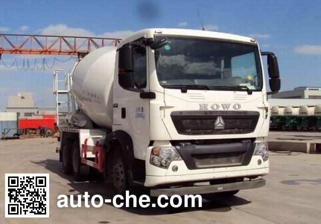 Sinotruk Howo concrete mixer truck ZZ5257GJBN324GE1