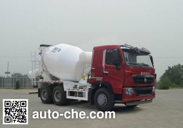 Sinotruk Howo concrete mixer truck ZZ5257GJBN364HD1