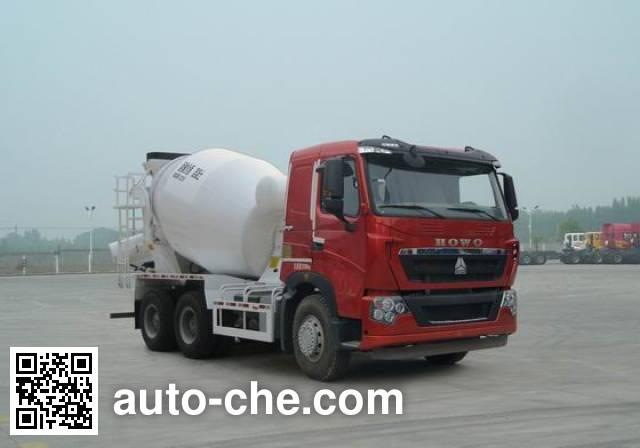 Sinotruk Howo concrete mixer truck ZZ5257GJBN384HD1