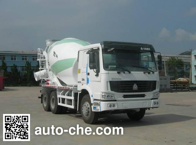 Sinotruk Howo concrete mixer truck ZZ5257GJBN4347C1