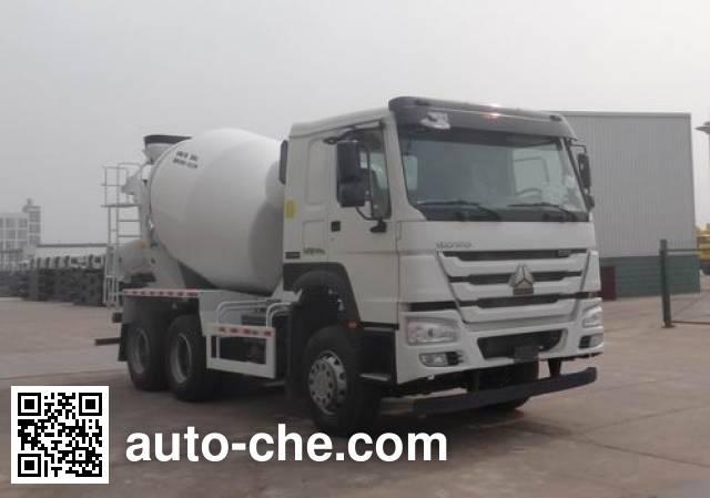 Sinotruk Howo concrete mixer truck ZZ5257GJBN4347E1B