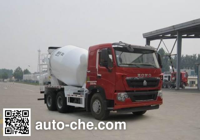 Sinotruk Howo concrete mixer truck ZZ5257GJBV364HD1