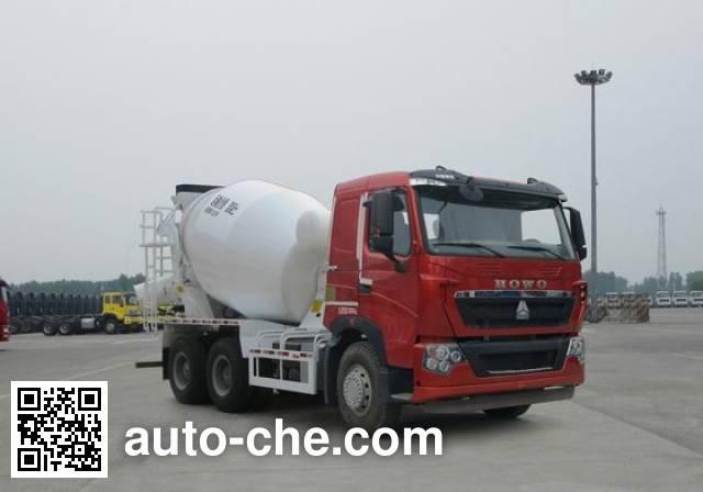 Sinotruk Howo concrete mixer truck ZZ5257GJBV404HD1