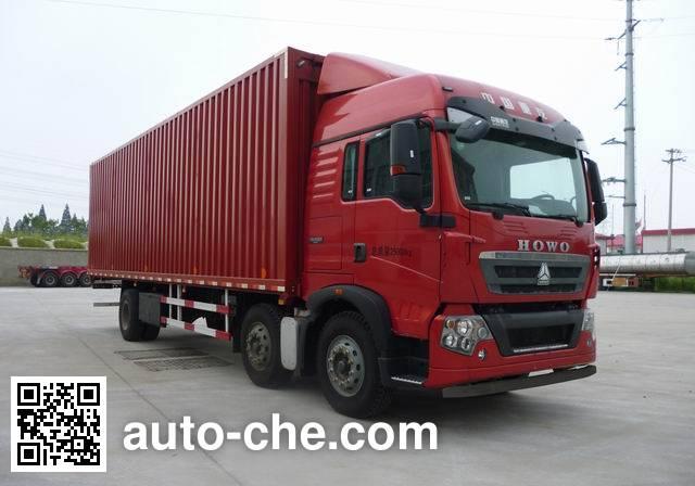 Sinotruk Howo wing van truck ZZ5257XYKM56CGE1