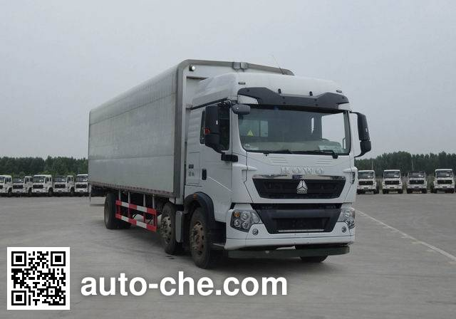 Sinotruk Howo wing van truck ZZ5257XYKN56CGD1H