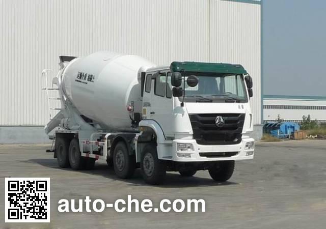Sinotruk Hohan concrete mixer truck ZZ5315GJBN3666C1