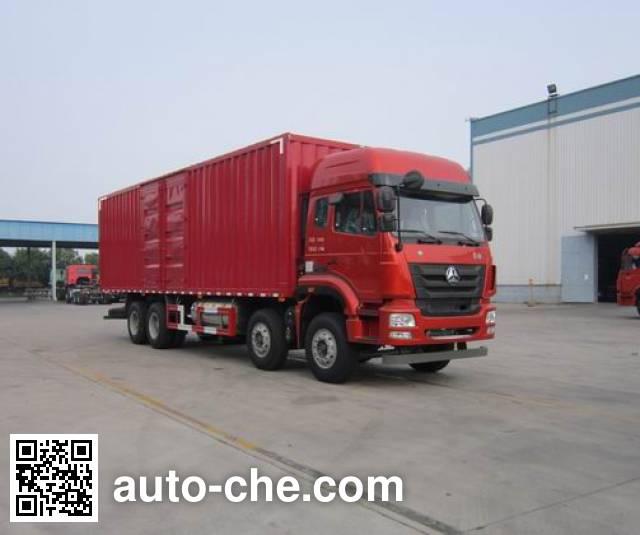 Sinotruk Hohan box van truck ZZ5315XXYM4663E1L